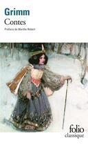 Couverture du livre « Contes » de Jacob Grimm et Wilhelm Grimm aux éditions Gallimard