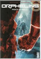 Couverture du livre « Orphelins t.6 ; rock'n'roll » de Roberto Recchioni et Emiliano Mammucari aux éditions Glenat Comics
