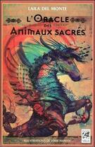 Couverture du livre « Oracle des animaux sacrés » de Laila Del Monte aux éditions Vega