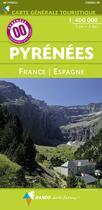 Couverture du livre « Pyrénées, France / Espagne » de Collectif aux éditions Rando Editions