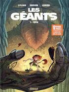 Couverture du livre « Les Géants T.1 ; Erin » de Lylian et Paul Drouin aux éditions Glenat