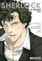 Couverture du livre « Sherlock T.3 ; le grand jeu » de Mark Gatiss et Steven Moffat et Jay aux éditions Kurokawa