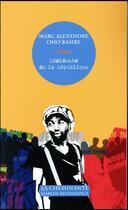 Couverture du livre « Résidents de la République » de Marc Alexandre Oho Bambe aux éditions La Cheminante