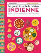 Couverture du livre « Le grand livre de la cuisine indienne » de Patrice Hauser et Johanna Fritz et Sandra Salmandjee et Aimery Chemin aux éditions Mango