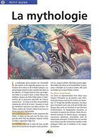 Couverture du livre « La mythologie » de Collectif aux éditions Aedis