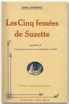 Couverture du livre « Les cinq fessées de Suzette » de James Lovebirch aux éditions Dominique Leroy