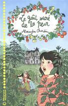 Couverture du livre « Le goût sucré de la peur » de Alexandre Chardin aux éditions Magnard