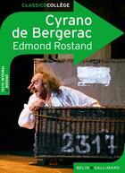 Couverture du livre « Cyrano de Bergerac » de Edmond Rostand et Pierre Troullier aux éditions Belin Education