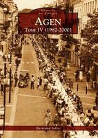 Couverture du livre « Agen t.4 » de Bertrand Soles aux éditions Editions Sutton