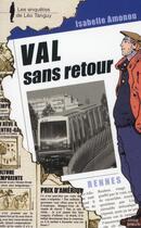 Couverture du livre « Val sans retour » de Isabelle Amonou aux éditions Coop Breizh