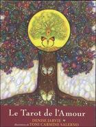 Couverture du livre « Le tarot de l'amour » de Toni Carmine Salerno et Denise Jarvie aux éditions Contre-dires