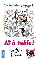 Couverture du livre « 13 à table ! (édition 2019) » de Collectif aux éditions Pocket