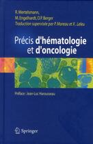 Couverture du livre « Précis d'hematologie et d'oncologie » de Collectif aux éditions Springer