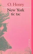Couverture du livre « New York tic tac » de O. Henry aux éditions Stock