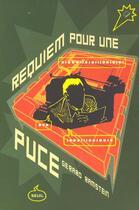 Couverture du livre « Requiem Pour Une Puce » de Gerard Ramstein aux éditions Seuil
