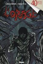 Couverture du livre « L'orage » de Carlospop+Moutch aux éditions Glenat