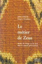 Couverture du livre « Le Metier De Zeus » de John Scheid aux éditions Errance