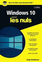 Couverture du livre « Windows 10 » de Andy Rathbone aux éditions First Interactive