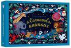 Couverture du livre « Le carnaval des animaux ; de Camille Saint-Saens » de Elodie Fondacci et Amanda Enright aux éditions Philippe Auzou