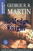 Couverture du livre « The hedge knight » de George R. R. Martin aux éditions Harrap's