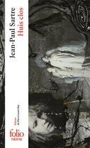 Couverture du livre « Huis clos ; pièce en un acte » de Jean-Paul Sartre aux éditions Gallimard
