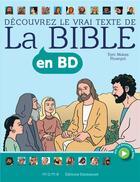 Couverture du livre « La Bible en BD » de Barcelona Multimedia aux éditions Mame