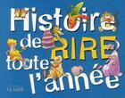 Couverture du livre « Histoire de rire toute l'année » de Daniel Pocetti aux éditions Goelette Inc