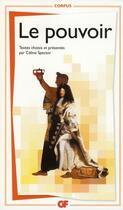 Couverture du livre « Le pouvoir » de Celine Spector aux éditions Flammarion