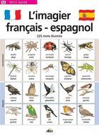 Couverture du livre « L'imagier français/espagnol » de Collectif aux éditions Aedis