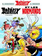 Couverture du livre « Astérix t.9 ; Astérix et les Normands » de Rene Goscinny et Albert Uderzo aux éditions Hachette