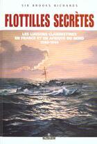 Couverture du livre « Flottes secretes » de Brooks Richards aux éditions Maitres Du Vent