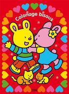 Couverture du livre « Coloriage Bisous » de Carmen Busquets aux éditions Lito