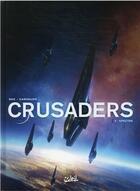 Couverture du livre « Crusaders T.3 ; spectre » de Christophe Bec et Leno Carvalho aux éditions Soleil