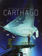 Couverture du livre « Carthago T.2 ; l'abysse Challenger » de Eric Henninot et Christophe Bec aux éditions Humanoides Associes
