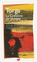 Couverture du livre « La creation du monde » de Miguel Torga aux éditions Flammarion
