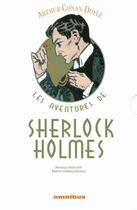 Couverture du livre « Les aventures de Sherlock Holmes » de Arthur Conan Doyle aux éditions Omnibus