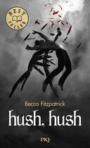 Couverture du livre « Hush hush » de Becca Fitzpatrick aux éditions Pocket Jeunesse