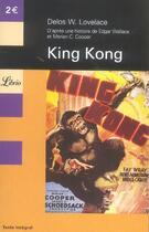 Couverture du livre « King Kong » de Edgar Wallace et Delos W. Lovelace et Merian C. Cooper aux éditions J'ai Lu