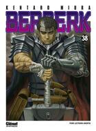 Couverture du livre « Berserk T.38 » de Kentaro Miura aux éditions Glenat
