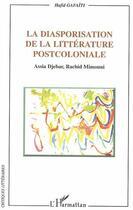 Couverture du livre « Diasporisation De La Litterature Postcoloniale » de Hafid Gafaiti aux éditions L'harmattan