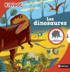 Couverture du livre « Les dinosaures » de Remi Saillard et Claudine Roland et Philippe Mignon aux éditions Nathan