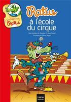 Couverture du livre « Ratus à l'école du cirque » de Jeanne Guion et Jean Guion et Olivier Vogel aux éditions Hatier
