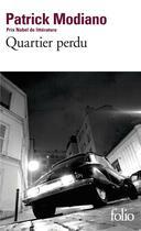Couverture du livre « Quartier perdu » de Patrick Modiano aux éditions Gallimard