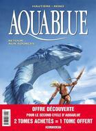 Couverture du livre « Aquablue ; COFFRET INTEGRALE VOL.5 ; T.12 A T.14 ; coffret 30 ans » de Regis Hautiere et Reno aux éditions Delcourt