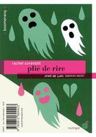 Couverture du livre « Plié de rire ; vert de peur » de Rachel Corenblit aux éditions Rouergue