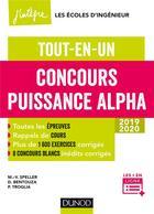 Couverture du livre « Concours puissance Alpha » de Marie-Virginie Speller et David Bentouza et Nathalie Ray-Icard aux éditions Dunod