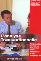 Couverture du livre « L'Analyse Transactionnelle » de Martine Lerond aux éditions De Vecchi