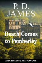 Couverture du livre « Death comes to pemberley » de Phyllis Dorothy James aux éditions Harrap's