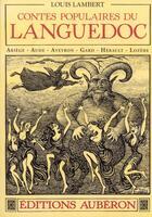Couverture du livre « Contes populaires du Languedoc » de Louis Lambert et Achille Montel aux éditions Auberon
