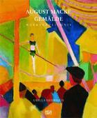 Couverture du livre « August Macke gemälde » de Ursula Heiderich aux éditions Hatje Cantz